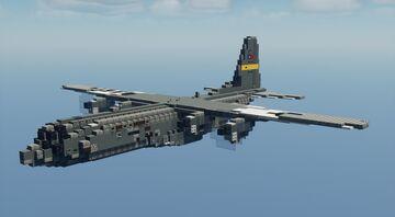 C-130J-30 Super Hercules - 1.5:1 Minecraft Map & Project