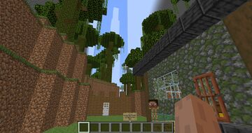 -TOWER OF COMBAT- 1.17 Adventure Map (Floors 1-3) Minecraft Map & Project