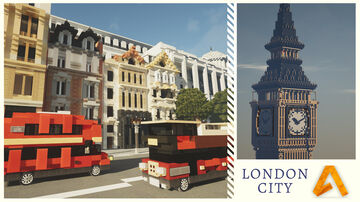 London city project Minecraft Map & Project