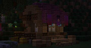 Small Gypsy Wagon Minecraft Map & Project