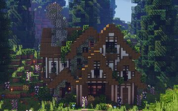 ♡ Rustic Cottage ♡ | The Loft MC Minecraft Map & Project