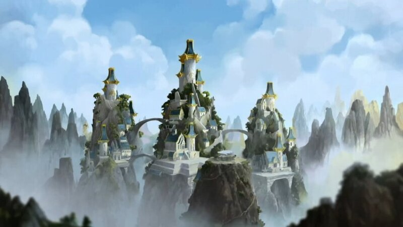 The Eastern Airtemple in Avatar the Legend of Korra.