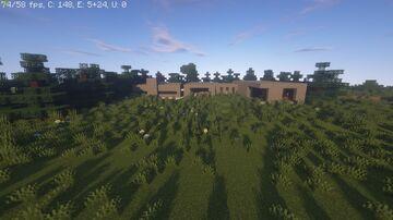 Minecraft Modern Concrete House Minecraft Map & Project