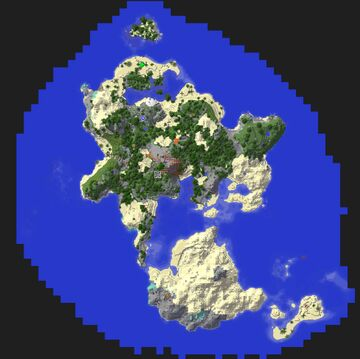 Save Game for R.A.D Modpack Minecraft Map & Project