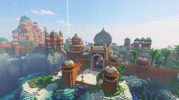 Mughal Style City Minecraft Map & Project