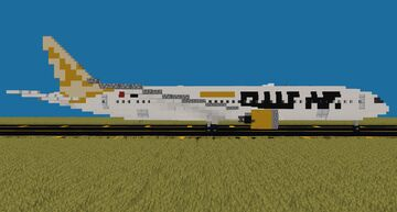 Gulf Air Boeing 787-9 Dreamliner [1:1] Minecraft Map & Project