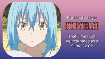 Storyteller - That Time I Got Reincarnated as a Slime S2 OP - Minecraft Note Block Cover Minecraft Map & Project