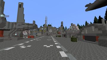 Imperial Endor (Star Wars planet) Minecraft Map & Project