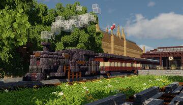GWR 2-6-2T 4100 Class, Passenger Train Minecraft Map & Project