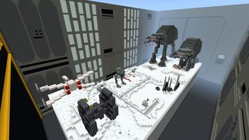 Star Wars: The Battle of Hoth (Hide & Seek + PVP) Minecraft Map & Project