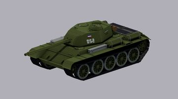 T-44 Minecraft Map & Project