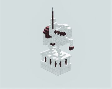 Cavalry Statue Render Minecraft Map & Project