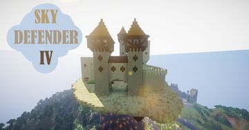 SKY DEFENDER IV | SAND CASTLE | PvP Strategy game [1.8-1.17] Minecraft Map & Project