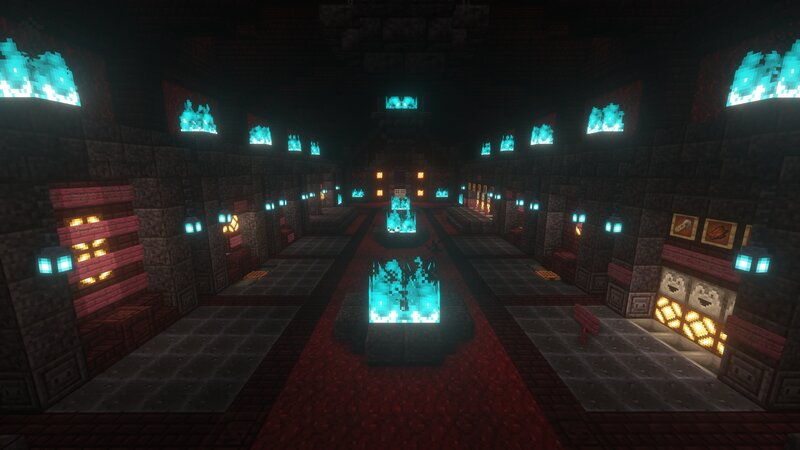 The Main Section of the Decked Out Lobby