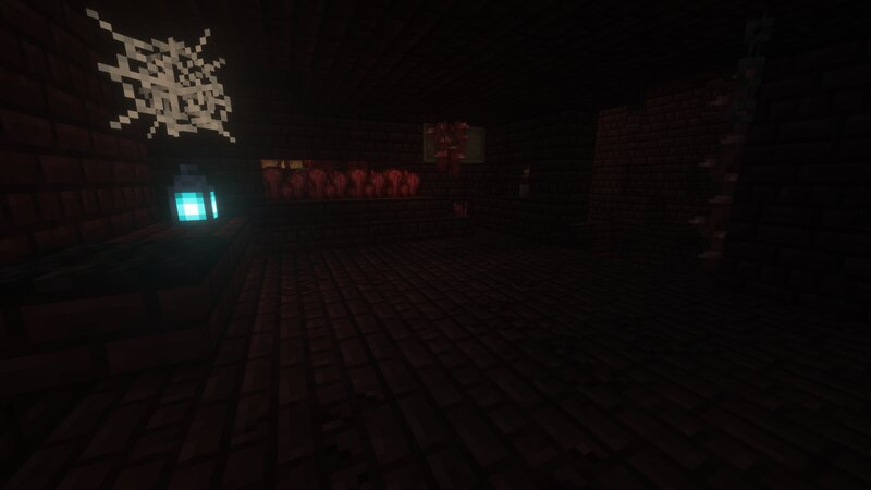 A Room in The Nether Fortress