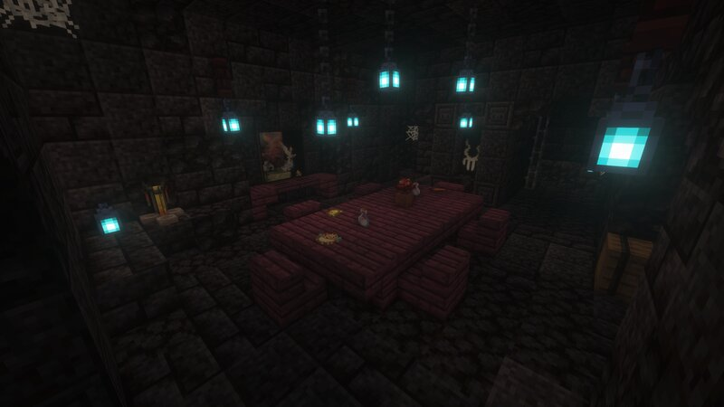 The Dining Room in The Blackstone Keep