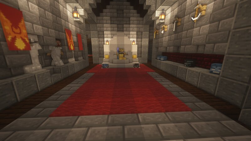 The Throne Room in The Keep