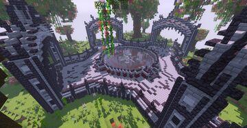 Dark Fantasy HCS Hub Minecraft Map & Project
