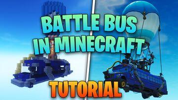 Fortnite - Battle Bus Minecraft Map & Project