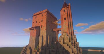 Prison Castle Minecraft Map & Project