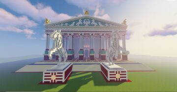 Greek Temple of Artemis / Wonder of the Ancient World Minecraft Map & Project