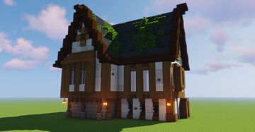 Medieval Cottage! Minecraft Map & Project