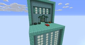 Prismarine Themed Bedwars Map Minecraft Map & Project