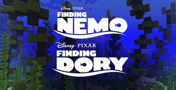 🐚 Finding Nemo & Finding Dory - Coral Reef 🐠 Minecraft Map & Project