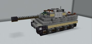 Jagdpanther Minecraft Map & Project