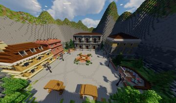 🏡 Victorian Hub 🏡   FREE MAP Minecraft Map & Project