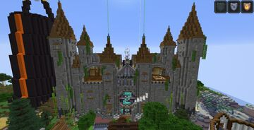 The fortress (castle) Minecraft Map & Project