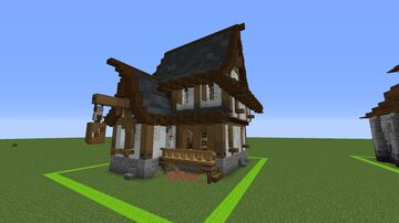 Spawn Tavern Minecraft Map & Project