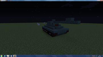 T-34 Tank Minecraft Map & Project