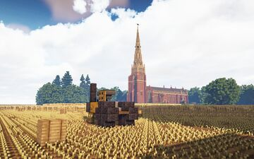 Parish Church of St John the Baptist, Edensor Minecraft Map & Project