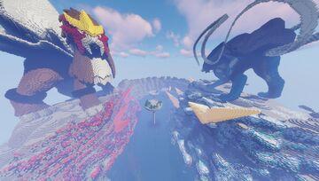 Pokemon Pixelmon  Spawn - Hub PhoenixBlazing || Completed Commission Minecraft Map & Project