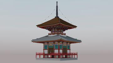 酒見寺 多宝塔 Minecraft Map & Project