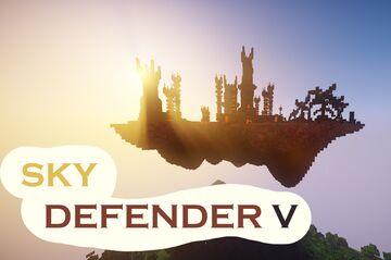 SKY DEFENDER V | Nether Castle | PvP Strategy game [1.8-1.17] Minecraft Map & Project