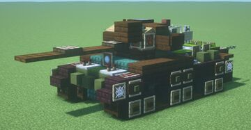 Centurion Mk. 5/1 RAAC (1.5:1 scale) Minecraft Map & Project