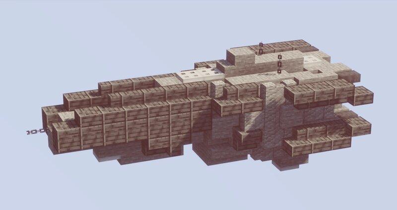 MINI Halberd Class Destroyer