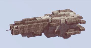 MINI Halberd Class Destroyer Minecraft Map & Project