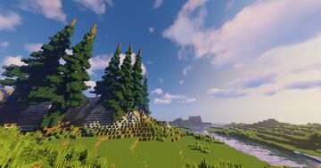 The Wilderness Minecraft Map & Project