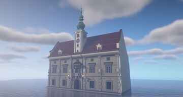 Germanic Town Hall Minecraft Map & Project