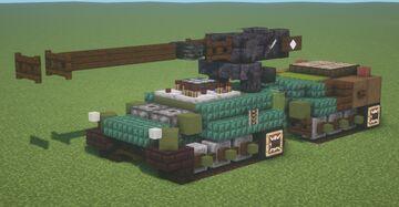 UDES XX-20 (Rh. 120 L/44) (1.5:1 Scale) Minecraft Map & Project