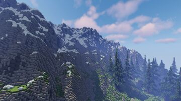 The Taiga River - 1,536 x 1,536 Map Minecraft Map & Project