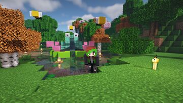 Frog on a Lily Pad Minecraft Map & Project