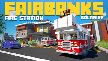 Fairbanks Fire Station | Avalable now on the Minecraft Marketplace! Minecraft Map & Project