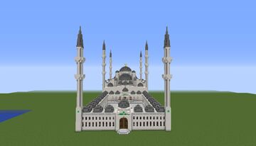 Sultan-Ahmed Mosque (Blue-Mosque) | Istanbul, Turkey Minecraft Map & Project