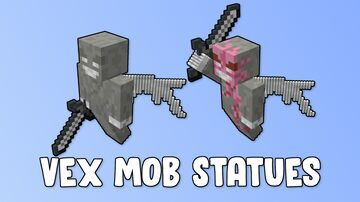 Vex Mob Statues Minecraft Map & Project