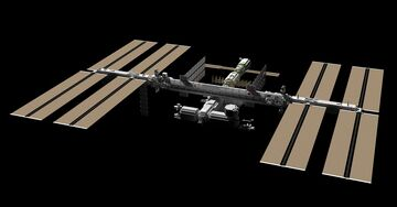 International space station Minecraft Map & Project