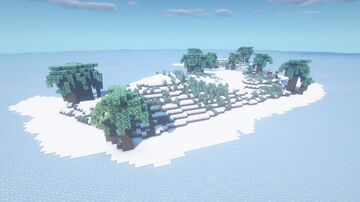 Farewell (Icey) [1.16.5 Island Survival Map] Minecraft Map & Project